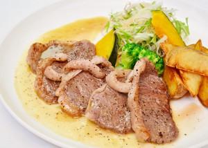 鹿肉ステーキ 1,200円