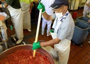 トマトジュース加工
